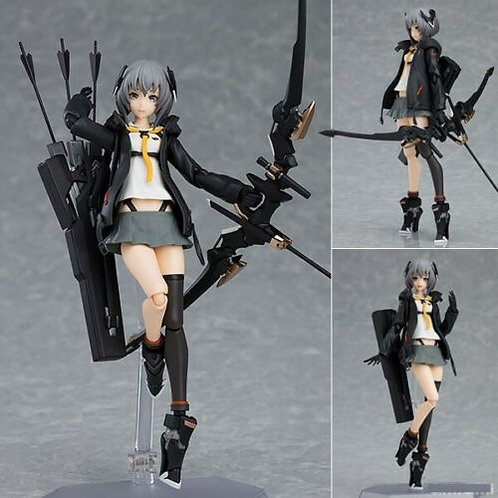 Figma 436 Heavily Armed High School Girls Roku figure Max Factory (authentic)