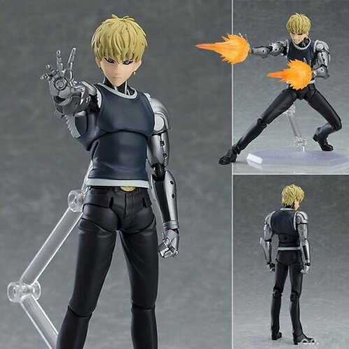 Figma 455 One Punch Man Genos action figure Max Factory (100% authentic)