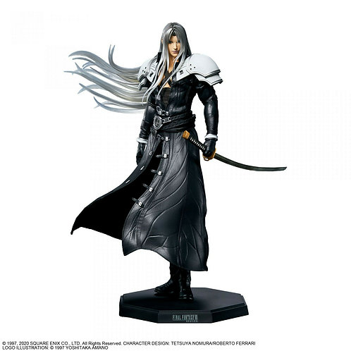 FINAL FANTASY FF VII 7 REMAKE Statuette Sephiroth Square Enix (authentic)