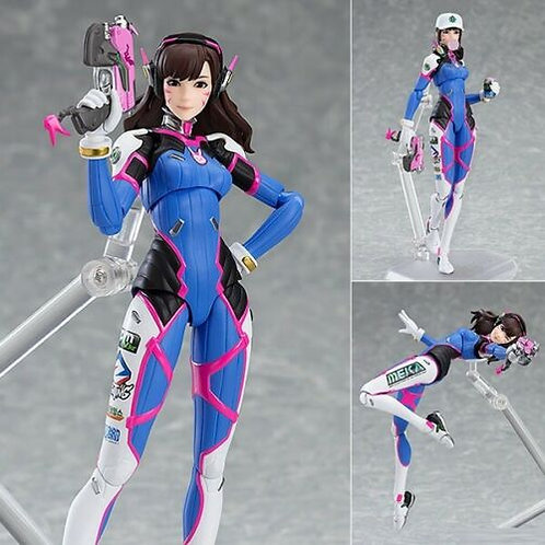Figma 408 Overwatch D.Va action figure Max Factory (100% authentic)