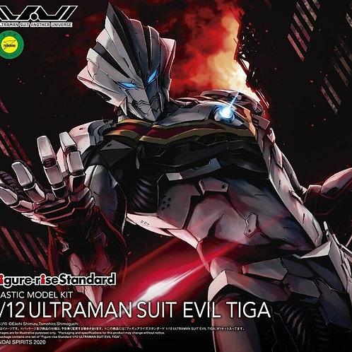 Figure Rise Ultraman Suit Evil Tiga 1/12 scale model kit Bandai