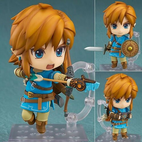 Nendoroid 1212 Zelda Breath of the Wild Link figure Good Smile (100% authentic)