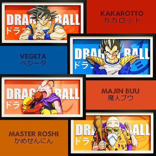 【Preorder】3D paper painting Dragon Ball