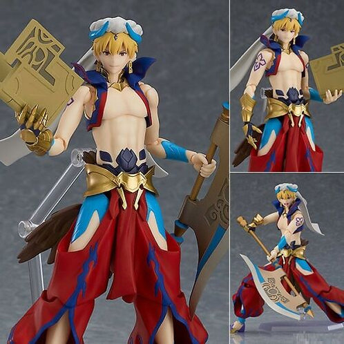 Figma 468 Fate Grand Order Caster Gilgamesh figure Max Factory (100% Authentic)