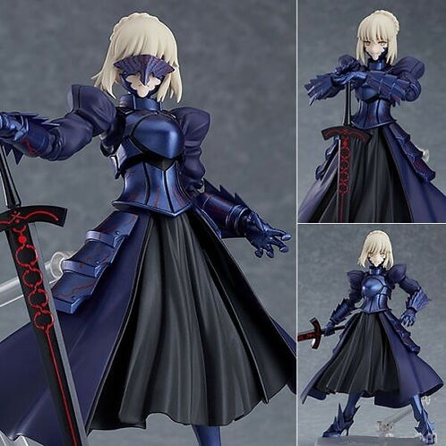 Figma 432 Fate Stay Night Saber Alter 2.0 figure Max Factory (100% authentic)