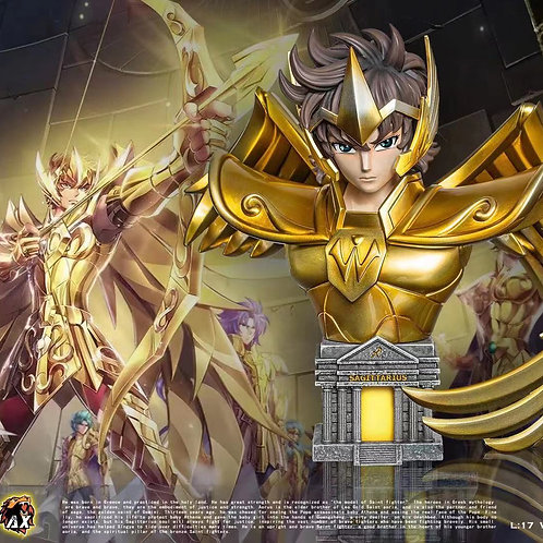 【Preorder】XS&AX-Studios Gold Saint Sagittarius Aiolos
