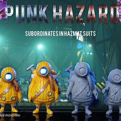 【Preorder】YZ Studio Punk Hazard Subordinates Inhazmat Suits