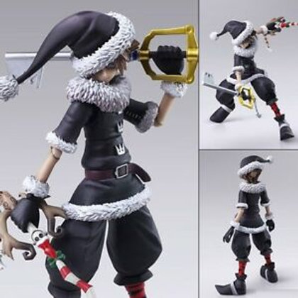 Kingdom Hearts II Sora Christmas Town Bring Art action figure Square Enix
