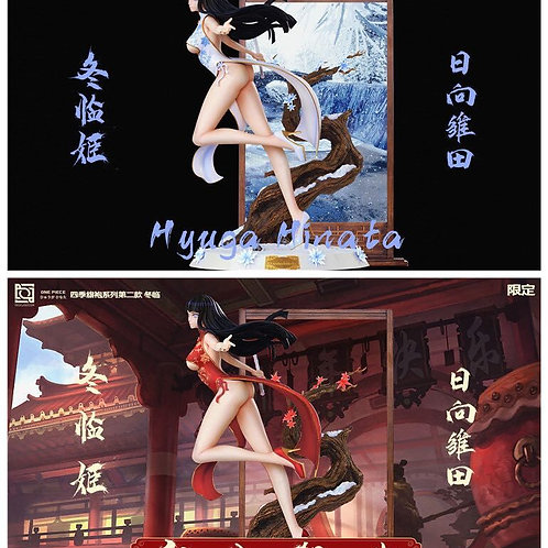 【Preorder】NEO Studio One-Piece Hyūga Hinata And Winter Came​ 1:4 Resin Statue