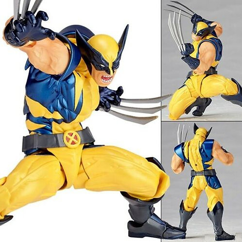 Revoltech Marvel Series 004 Wolverine action figure Kaiyodo (100% authentic)