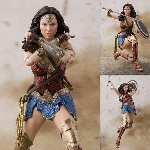 S.H. Figuarts Wonder Woman Justice League action figure Bandai U.S. seller