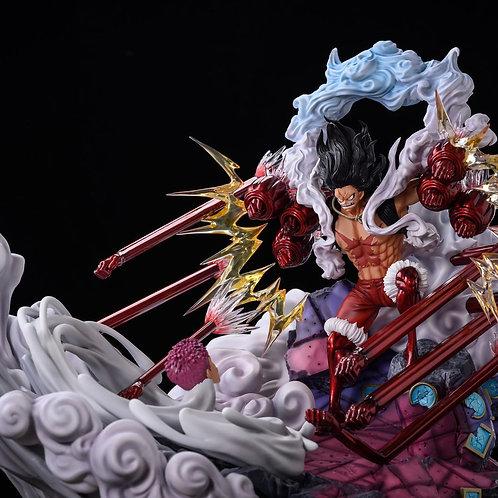 【Preorder】QK Studio Charlotte Katakuri & Gear Fourth Luffy Snake Man