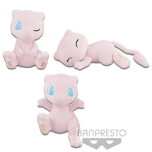 Pokemon I Love Mew Plush Doll set of 3 Banpresto (100% authentic)