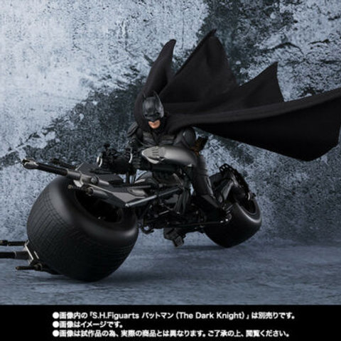 S.H. Figuarts The Dark Knight Batman Bat-Pod action figure Bandai Tamashii Japan