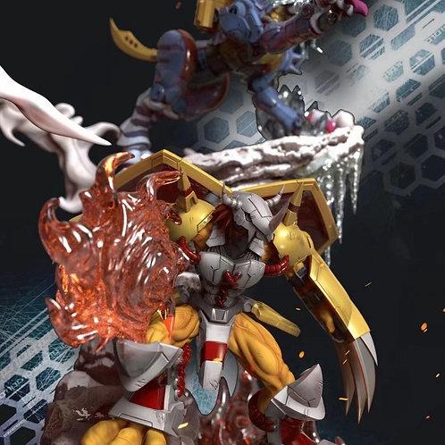 【Preorder】Dimension power WarGreymon MetalGarurumon