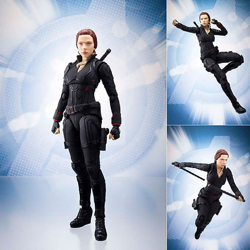 S.H. Figuarts Avengers Endgame Black Widow action figure Bandai