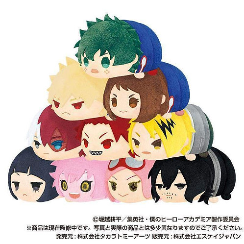My Hero Academia Mochi Mochi Mascot Tsum vol.2 Trading figure Plush Case of 10