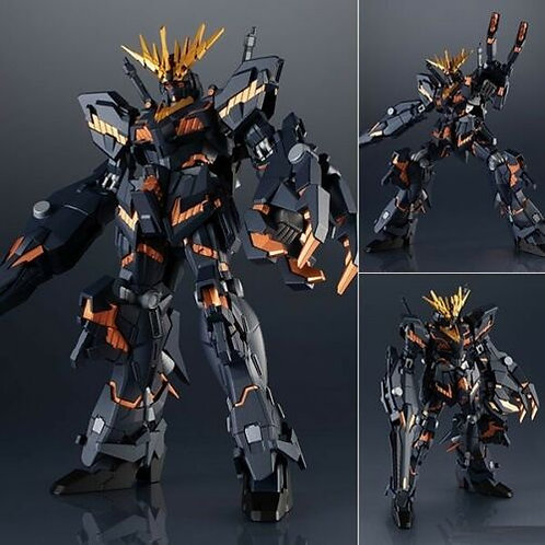 "Gundam Universe GU-05 RX-0 Unicorn Gundam 02 Banshee 6"" action figure Bandai"