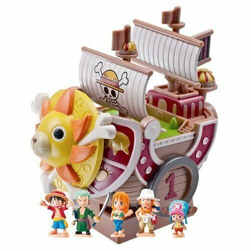 One Piece Chara Bank Thouand Sunny Megahouse