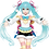 Thumbnail: Vocaloid Hatsune Miku winter image ver. figure Taito (100% authentic)