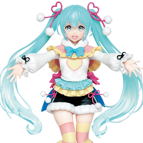 Vocaloid Hatsune Miku winter image ver. figure Taito (100% authentic)