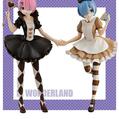 Re:Zero Starting Life in Another World Rem & Ram in Wonderland SSS Figure Furyu