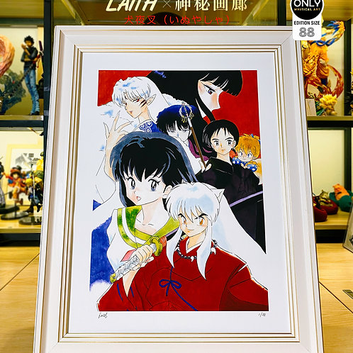 【Preorder】 Inuyasha Art Painting By Laith