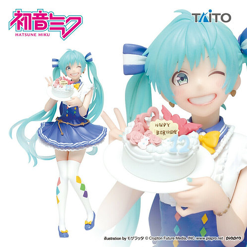 Vocaloid Hatsune Miku Birthday ver. 2019 PVC figure Taito (100% authentic)