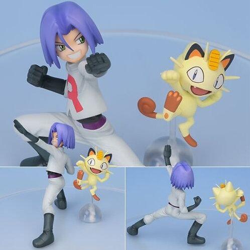 GEM Pokemon Kojiro James & Nyarth Meowth 1/8 PVC figure Megahouse 100% authentic