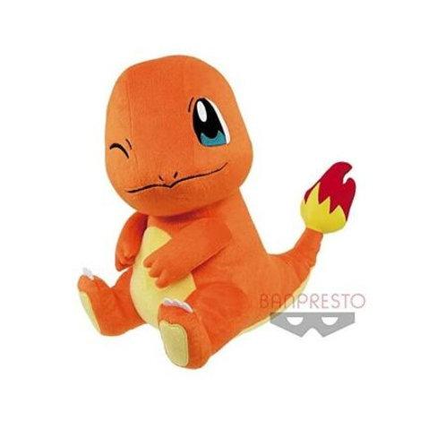 "Pokemon Hitokage Charmander 12"" Plush Banpresto (100% authentic)"
