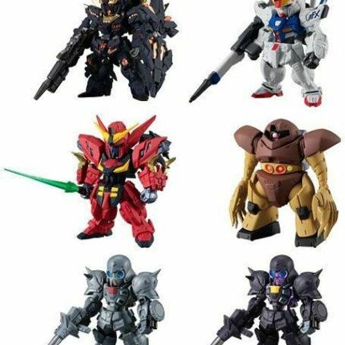 FW Gundam Converge #16 Banshee Virsago Neo Gogg set of 6 Bandai Shokugan