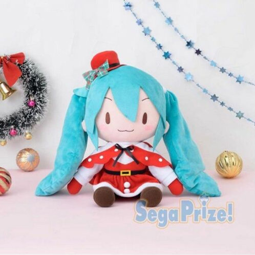 Vocaloid Hatsune Miku Christmas ver. 30cm Plush Sega (100% authentic)