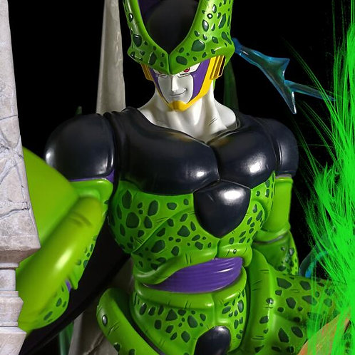 【Preorder】X.T Studios 1/6 Scale Cell with LED - Dragon Ball Resin Statue