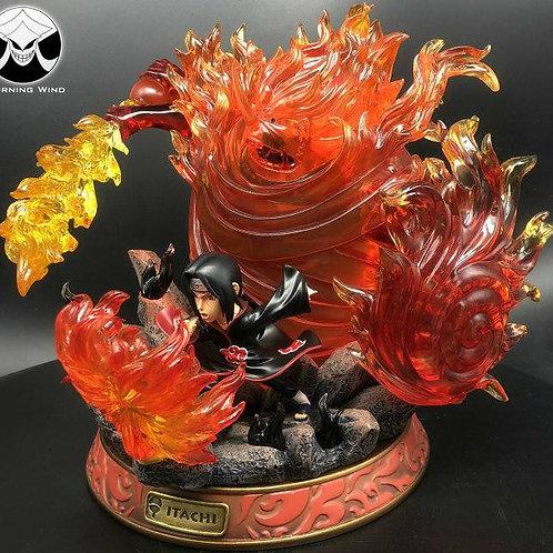 BW Studio Naruto SD Susanoo Uchiha Itachi Akatsuki LED Collector GK Statue