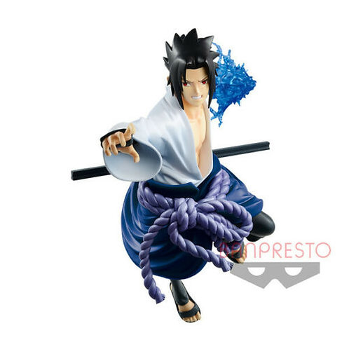 Naruto Shippuden Vibration Stars Sasuke Uchiha PVC Figure Banpresto (Authentic)
