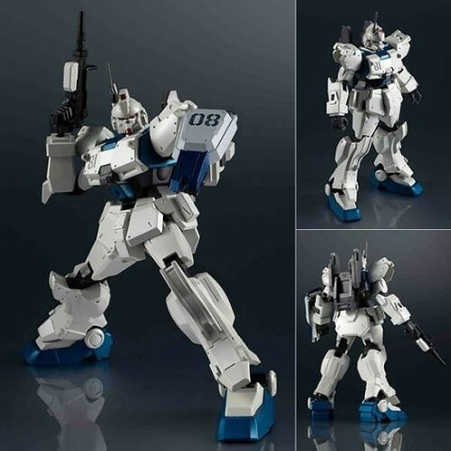 "Gundam Universe GU-08 RX-0 MS 08 Team Gundam Ez-8 Ez8 6"" action figure Bandai"