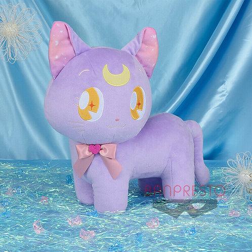 "Sailor Moon Big Luna Cat 12"" Plush Doll Banpresto (100% authentic)"