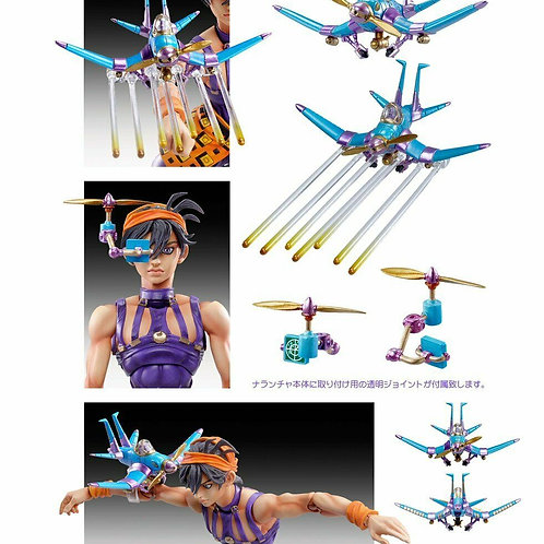 Jojo's Bizarre Adventure Golden Wind Narancia Ghirga & Aerosmith figure Medicos