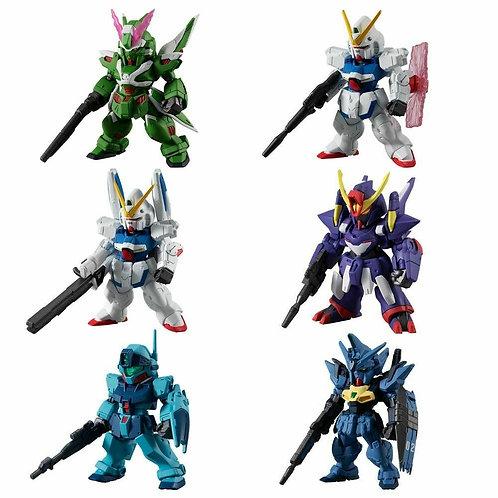 FW Gundam Converge #19 Victory Two GM Sniper Phantom set of 6 Bandai Shokugan