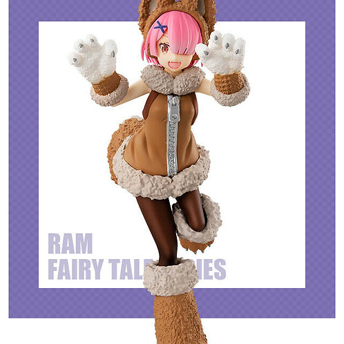 Re:Zero Starting Life in Another World Ram Fairy Tail Fox Girl Figure Furyu