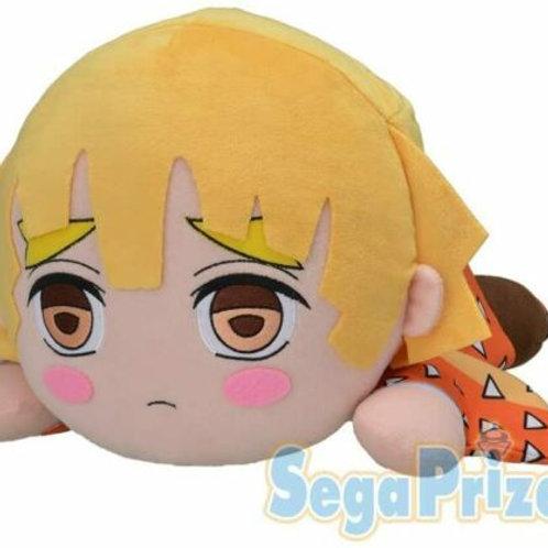 KIMETSU NO Yaiba Demon Slayer Zenitsu Agatsuma 40cm Nesoberi Plush Sega