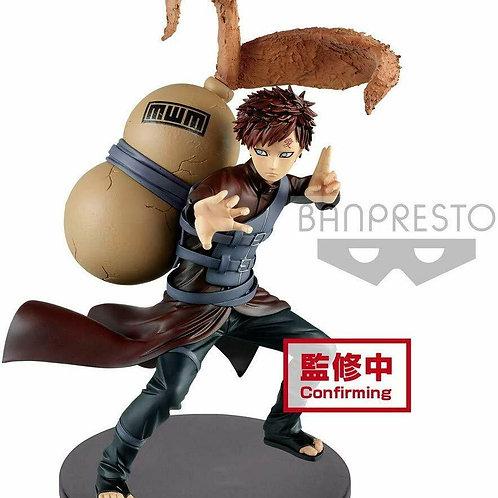 """Naruto Shippuden Vibration Stars Gaara 6"""" PVC Figure Banpresto (100% Authentic)"""