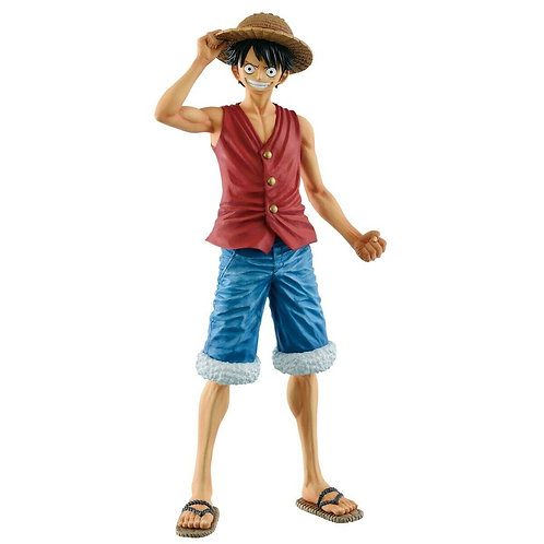 "One Piece Masterlise 20th Anniversary Monkey D. Luffy 10"" PVC figure Banpresto"