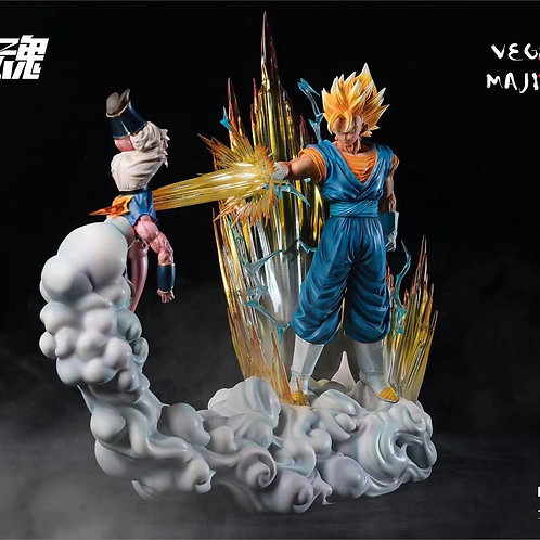 【Preorder】Sculpting Soul Vegetto & Majin Buu
