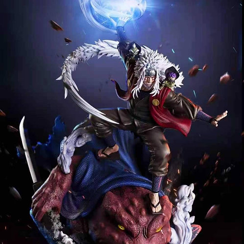 【Preorder】BURNING WIND Studio Jiraiya resin statue 1:7 with LED