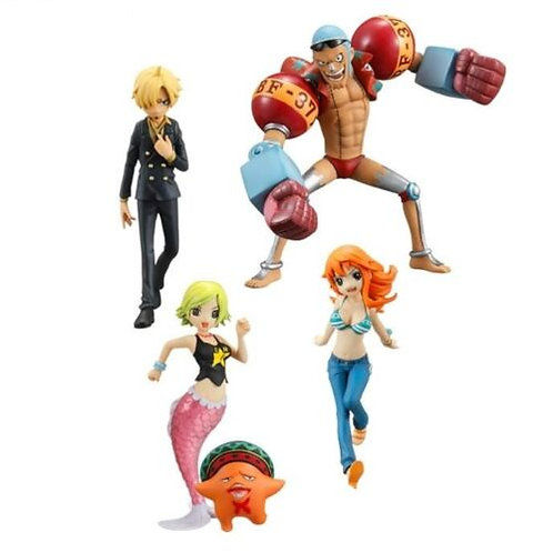 One Piece Half Age Characters Vol.3 gashapon figure set Bandai