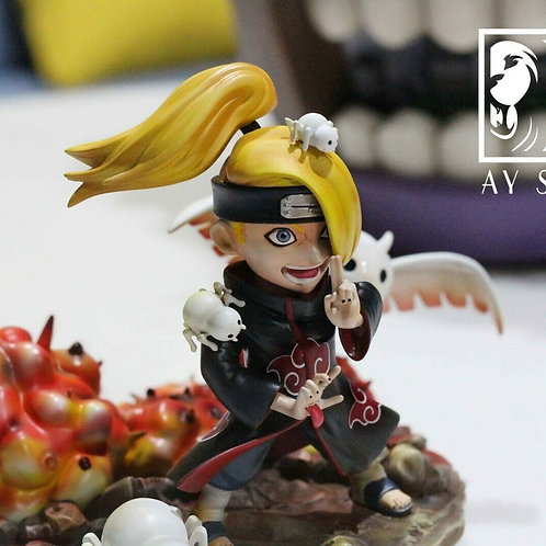 AY Studio Deidara Resin Figurine Model Akatsuki Figure Garage Kit Naruto GK