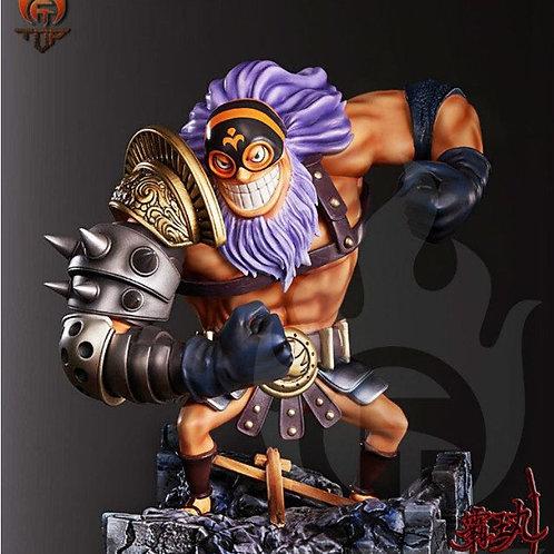 T.O.P Studio One Piece Blackbeard Jesus Burgess Resin PU Collector GK statue