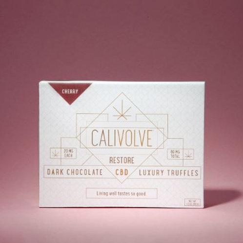Calivolve CBD Truffles - Cherry, Matcha, or Mint