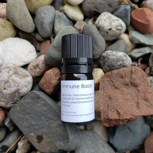 Immune Boost Essential Oil Blend - Undiluted Dropper Bottle